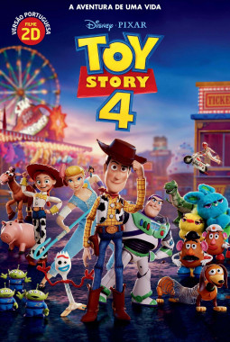 Toy Story 4 VP cover