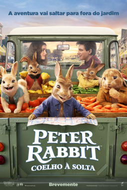 Peter Rabbit: Coelho à Solta cover